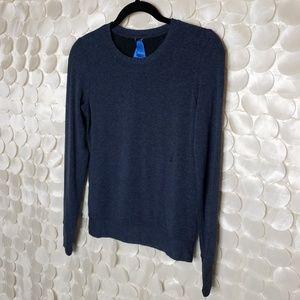 Kit Ace Blue brushed long sleeve tee shirt Size 2